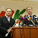 Gyurcsány Ferenc és Csáky Pál